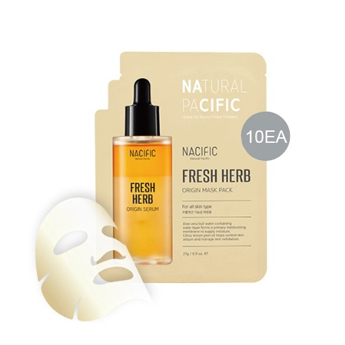NACIFIC Fresh Herb Origin Mask Pack 27g * 10ea
