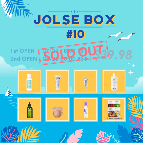 JOLSE BOX #10 SOLD OUT