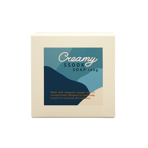ONEOSEVEN Creamy Ssook Soap 160g