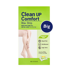 MISSHA Clean Up Comfort Wax Strip Big