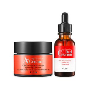 TIAM My Signature Red C Serum 30ml + TIAM My Signature A+ Cream 50ml