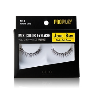 CLIO Pro Play Mix Color Eyelash