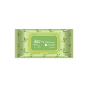TONYMOLY The Chok Chok Green Tea No Wash Cleansing Tissue 100ea