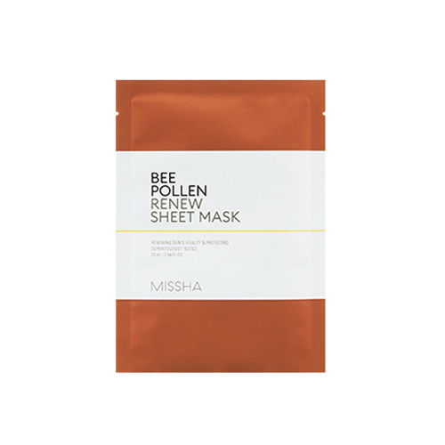 MISSHA Bee Pollen Renew Sheet Mask 25ml