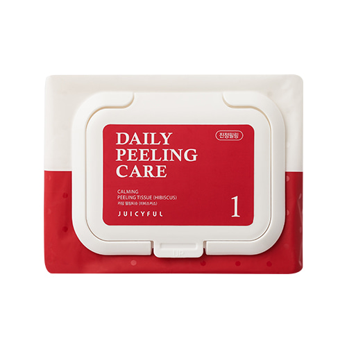 JUICYFUL Daily Calming Hibiscus Peeling Tissue 22ea
