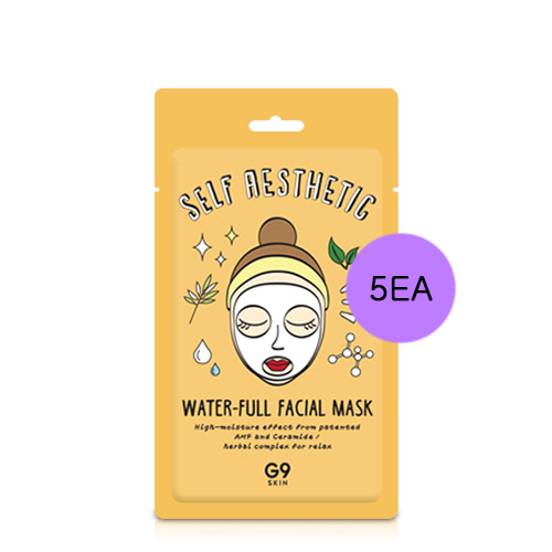 G9SKIN Self Aesthetic Water-Full Facial Mask 5ea