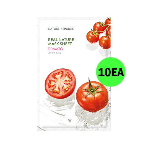 NATURE REPUBLIC Real Nature Mask Sheet Tomato 10ea