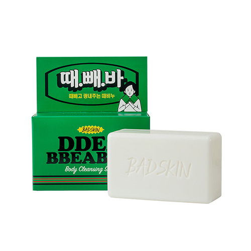 BADSKIN Ddea Bbea Bar Body Cleansing Soap 150g