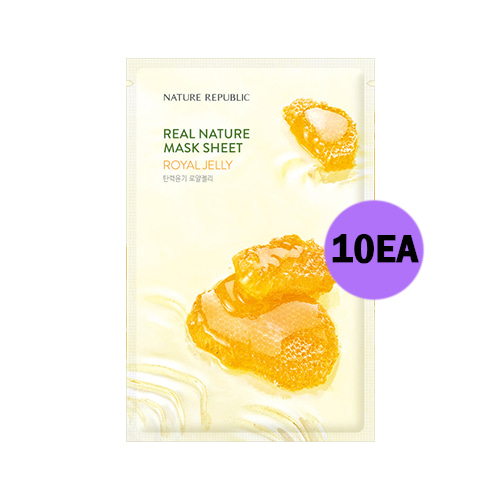 NATURE REPUBLIC Real Nature Mask Sheet Royal Jelly 10ea