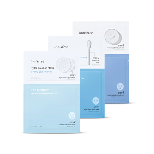 innisfree Hydra Solution Mask 3ea