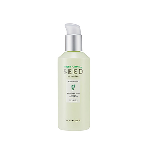 THE FACE SHOP Green Natural Seed Advanced Antioxidant Lotion 145ml