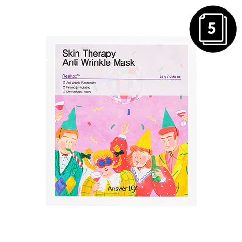 Answer19+ Skin Therapy Anti Wrinkle Mask 5ea