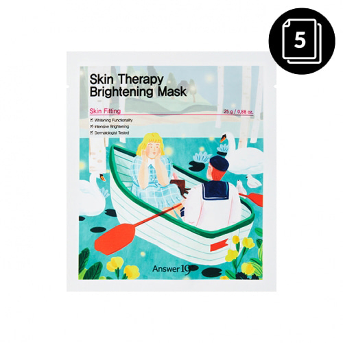 Answer19+ Skin Therapy Brightening Mask 5ea