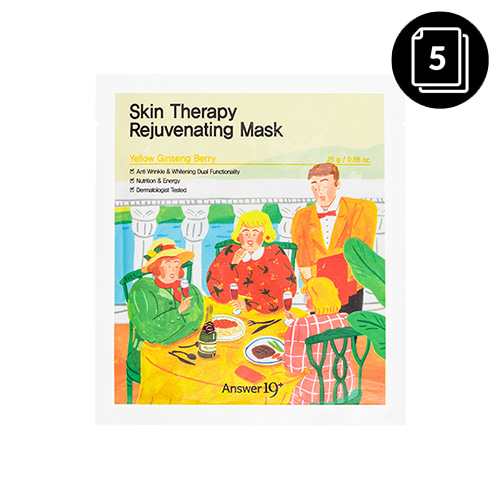 Answer19+ Skin Therapy Rejuvenating Mask 5ea
