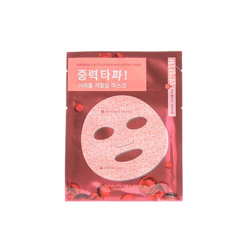ETUDE HOUSE Wrinkle T.A.P.A Spider Map Lifting Mask 1ea