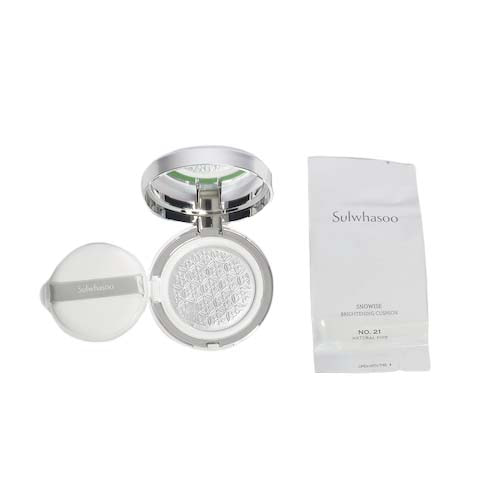 Sulwhasoo Snowise Brightening Cushion SPF50+ PA+++ 14g + Refill 14g
